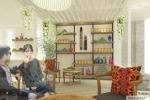 Interior Tea House
